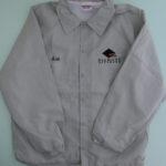 USED Diamond Offshore Coach Jacket LIGHTGRAY