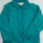 USED Coach Jacket GREEN