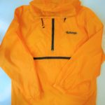 "USED Anorak Rain Pillow(Parka) ""Kid songs YELLOW"""