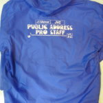 USED Public Adress Staff Jumper BLUE