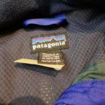USED Patagonia Nylon Jacket BLUE×GREEN