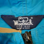 USED WOOL RICH Nylon Parka TURQUOISE