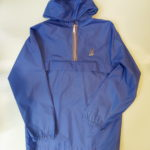 USED Saporro Nylon Parka BLUE