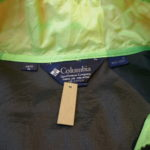 USED Columbia Nylon Jacket BLACK