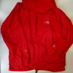 VINTAGE North Face Summit Series Nylon Parka RED