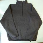 USED Nautica Fleece Pull Over GRAY