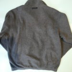 USED Eddie Bauer Fleece Jacket GRAY