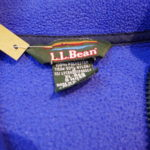 VINTAGE L.L.Bean Fleece Jacket BLUE