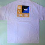 DEADSTOCK WUWEAR Short Sleeve TEE WHITE