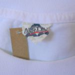USED Mitsubishi Short Sleeve TEE WHITE