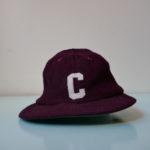USED WOOL C CAP BURGUNDY