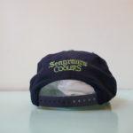 VINTAGE Seagram's Coolers CAP NAVY×GREEN