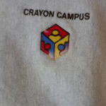 USED Crayon Campus SWEAT H.GRAY