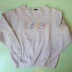 USED Mickey SWEAT H.GRAY