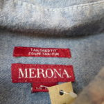 VINTAGE MERONA Chambray Shirt BLUE