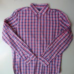 USED GAP Check Shirt RED×BLUE