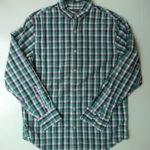VINTAGE Check Shirt GREEN×BLACK