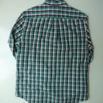 USED Check Shirt GREEN×BLACK