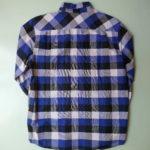 USED HUF Check Shirt BLUE×BLACK