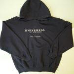 USED UNIVERSAL STUDIOS Parka NAVY