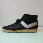 USED PONY HighCUT SUEDE SNEAKER BLACK