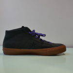 CONVERSE CONS One Star Pro Suede Mid Top Skateboarding Shoes BLACK