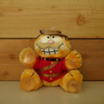 SOFT TOY Garfield Officer