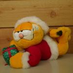 SOFT TOY Garfield Christmas with Giftbox
