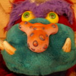 SOFT TOY My Football Monster