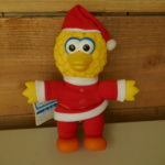 SOFT TOY SESAME STREET BIG BIRD CHRISTMAS