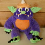 SOFT TOY MONSTER PLUSH PURPLE