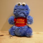 SOFT TOY SESAME STREET Cookie Monster SMALL