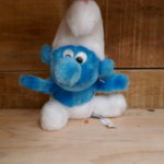 SOFT TOY SMURF SMILE VINTAGE
