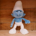 SOFT TOY SMURF GROUCHY