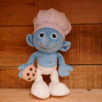 SOFT TOY SMURF COOKING