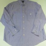 USED CHAPS L/S OXFORD SHIRT BLUE