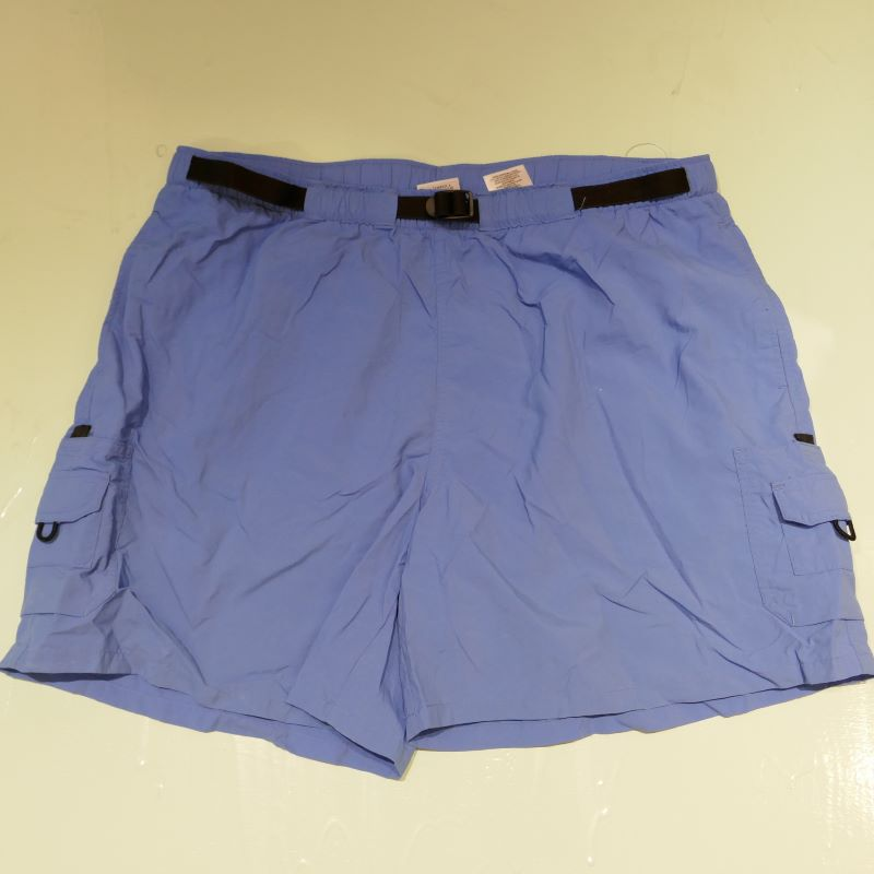 USED COLUMBIA SHORT PANTS LIGHT BLUE