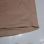 USED L.L.BEAN SHORT PANTS BEIGE