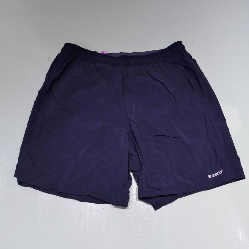 VINTAGE SPEEDO SHORT PANTS DARK NAVY SMALL
