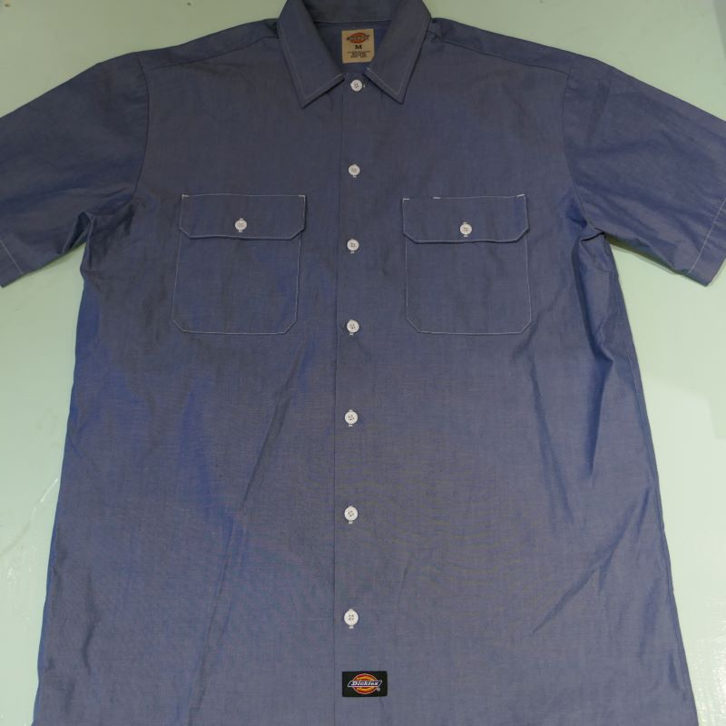 USED DICKIES S/S WORK SHIRT M