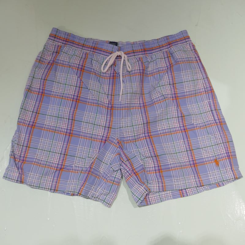 VINTAGE POLO BY RALPH LAUREN SHORT PANTS BLUE CHECK