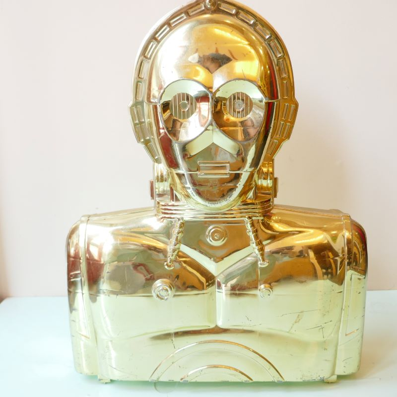 VINTAGE STAR WARS C-3PO ACTION FIGURE CASE