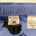 USED COLUMBIA SHORT PANTS LIGHT BLUE