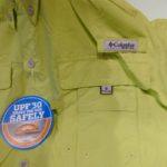 USED COLUMBIA OMNI-SHADE S/S WORK SHIRT LIGHTGREEN