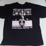 USED LAST DAY OF SUMMER TEE BLACK