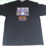 USED INTERNATIONAL LATIN CINEMA FESTIVAL TEE BLACK