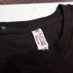 USED STICKER FARMER TEE BLACK