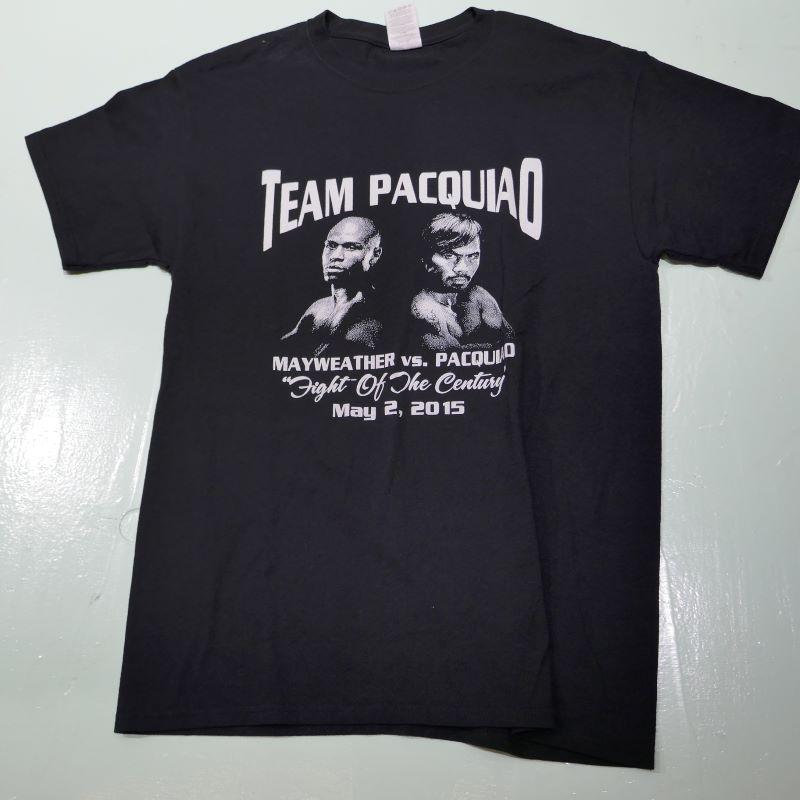 USED TEAM PACQUIAO TEE BLACK