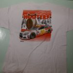 USED HOOTERS TEE WHITE