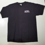 USED SFSU BOOKSTORE TEE BLACK